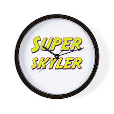 Super skyler Wall Clock