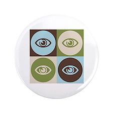 "Optometry Pop Art 3.5"" Button"