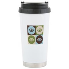 Optometry Pop Art Travel Mug