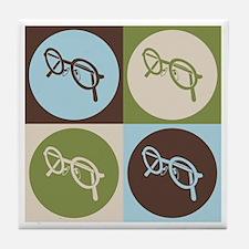 Optics Pop Art Tile Coaster