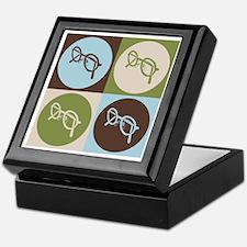 Optics Pop Art Keepsake Box