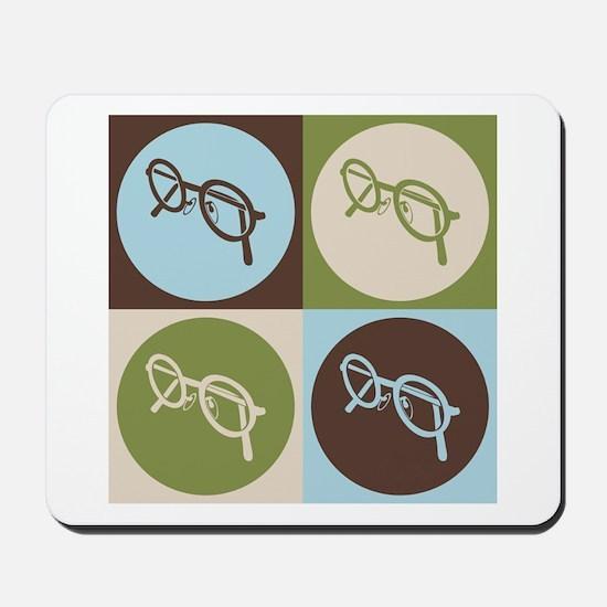 Optics Pop Art Mousepad