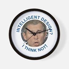Intelligent Design?  I think not! Wall Clock