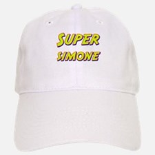 Super simone Baseball Baseball Cap
