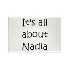 Funny Nadia Rectangle Magnet