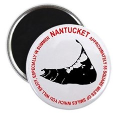 Nantucket Tourism Magnet
