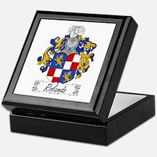 Rolando Family Crest Keepsake Box