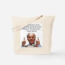 Bidenism - Barack America Tote Bag