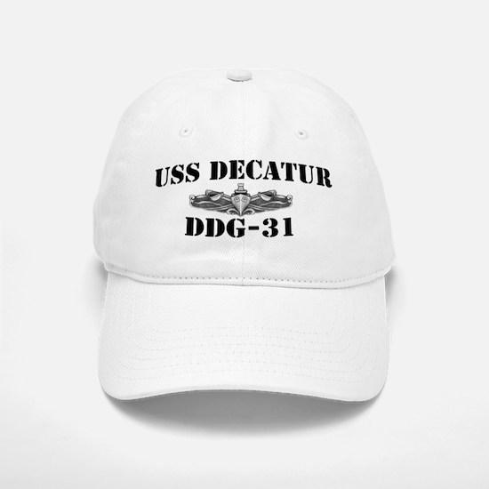 USS DECATUR Baseball Baseball Cap