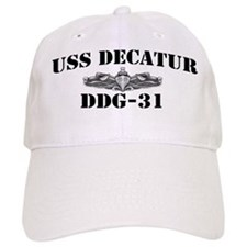 USS DECATUR Baseball Cap