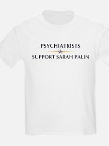PSYCHIATRISTS supports Palin T-Shirt
