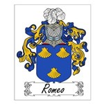 Romeo Family Crest Small Poster