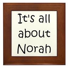 Norah Framed Tile
