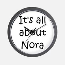 Cute Nora Wall Clock