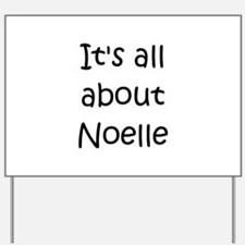Cute Noelle Yard Sign
