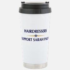 HAIRDRESSERS supports Palin Travel Mug