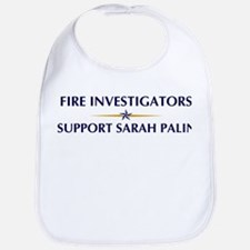FIRE INVESTIGATORS supports P Bib