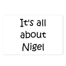 Funny Nigel Postcards (Package of 8)