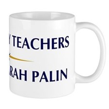 GEOGRAPHY TEACHERS supports P Mug