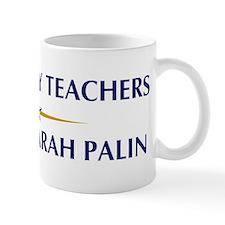GEOGRAPHY TEACHERS supports P Mug