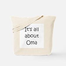Funny Oma Tote Bag