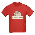 No Lambs Harmed Kids Dark T-Shirt