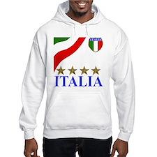 Italia 4 star Italian Hoodie