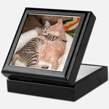 kitty Hug Keepsake Box
