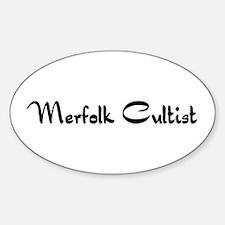 Merfolk Cultist Oval Decal