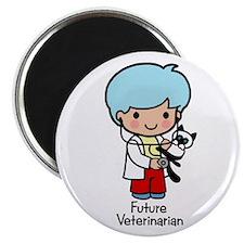 Future Veterinarian boy Magnet