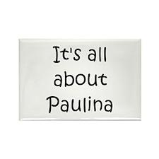 Funny Paulina Rectangle Magnet