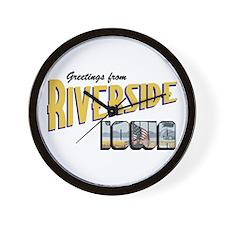 Riverside Wall Clock