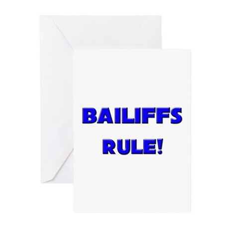 Bailiffs Rule! Greeting Cards (Pk of 10)