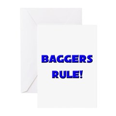Baggers Rule! Greeting Cards (Pk of 10)