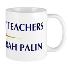 AUDIOLOGY TEACHERS supports P Mug