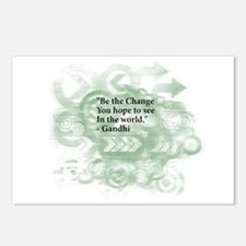 Cute Make change Postcards (Package of 8)