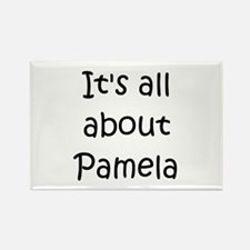 Cute Pamela Rectangle Magnet
