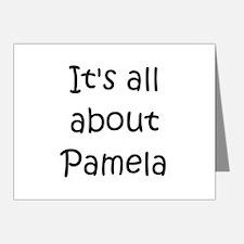Cute Pamela Note Cards (Pk of 20)