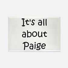 Cute Paige Rectangle Magnet
