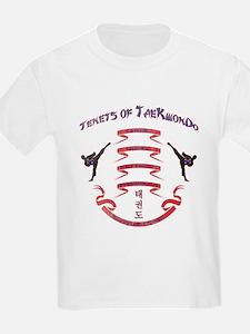 Tenets of TaeKwonDo - Vintage T-Shirt