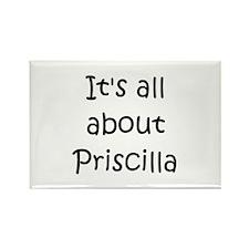 Cool Priscilla Rectangle Magnet