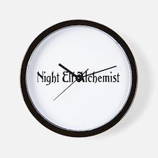 Night Elf Alchemist Wall Clock