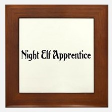 Night Elf Apprentice Framed Tile