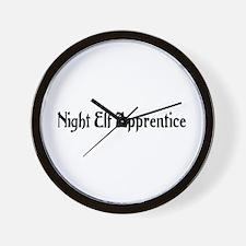 Night Elf Apprentice Wall Clock