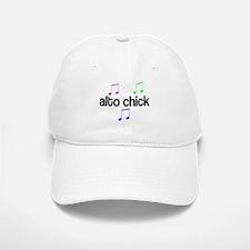 Alto Chick Baseball Baseball Cap