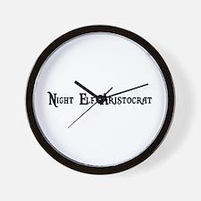 Night Elf Aristocrat Wall Clock