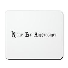 Night Elf Aristocrat Mousepad
