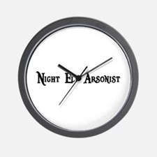 Night Elf Arsonist Wall Clock