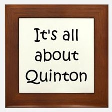 Unique Quinton Framed Tile