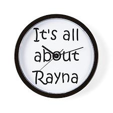 Unique Rayna Wall Clock